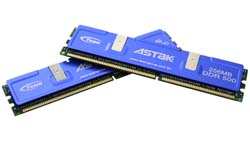 Astak Team Research PC4000 DDR-500 High Speed Memory